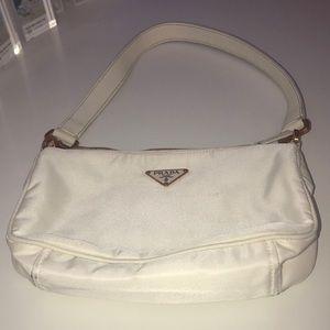 Prada Milano White Bag